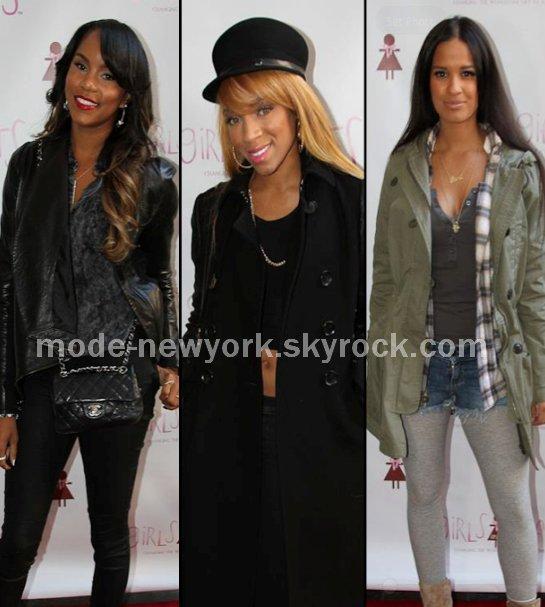 Letoya Luckett, Lil Mama et Rocsi