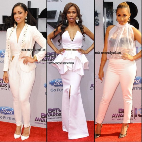 Highlights From The 2013 BET Awards Red Carpet