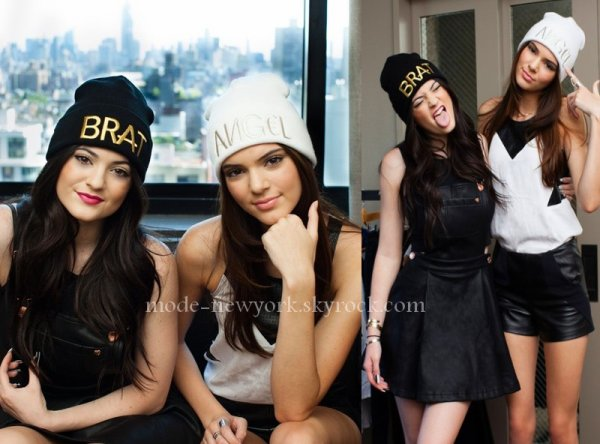 KENDAL & KYLIE JENNER [the KARDASHIAN FAMILLY]