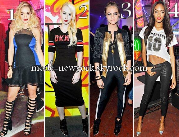 Rita Ora, Iggy Azalea, Cara Delevingne et Jourdan Dunn