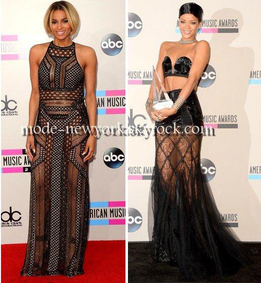 Ciara / VS / Rihanna, alors d'après vous la plus belle robe de la soirée ?
