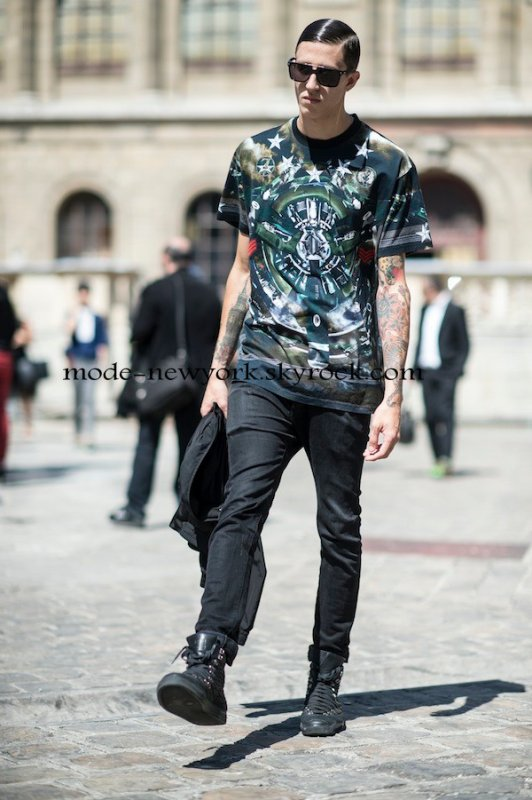 FASHION BOY Givenchy style