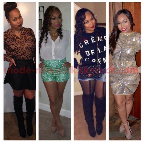 Identifier votre style vestimentaire sur ces 4 images.