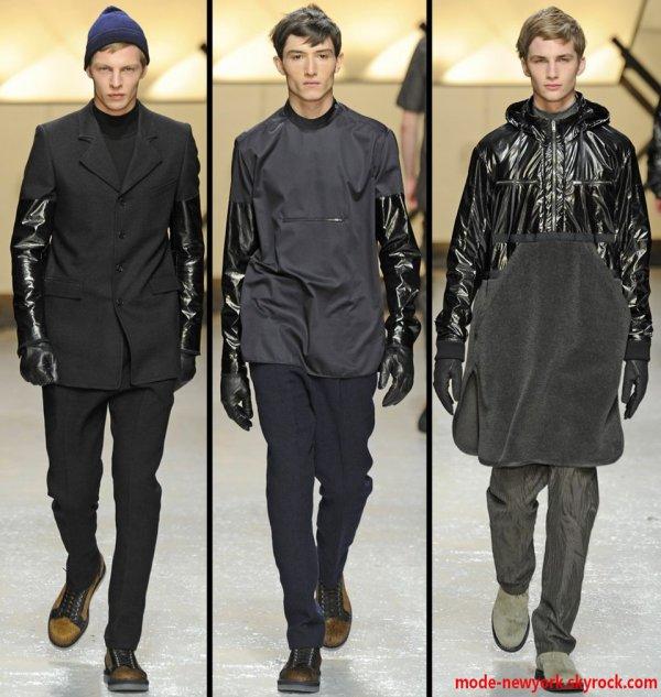 le mélange de matière pour la création des vêtements c'est un autre univers