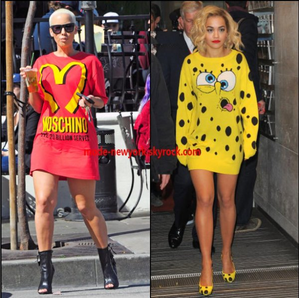 AMBER ROSE VS RITA ORA