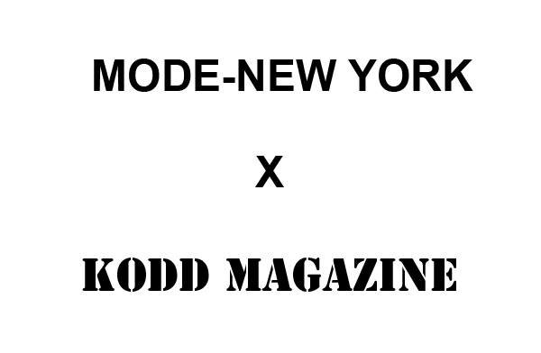 COLLABORATION MODE-NEWYORK  x  KODD MAGAZINE
