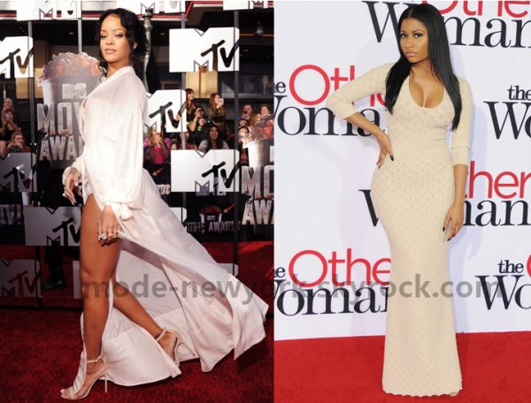 Rihanna VS Nicki minaj (selon vous la plus belle robe) ?