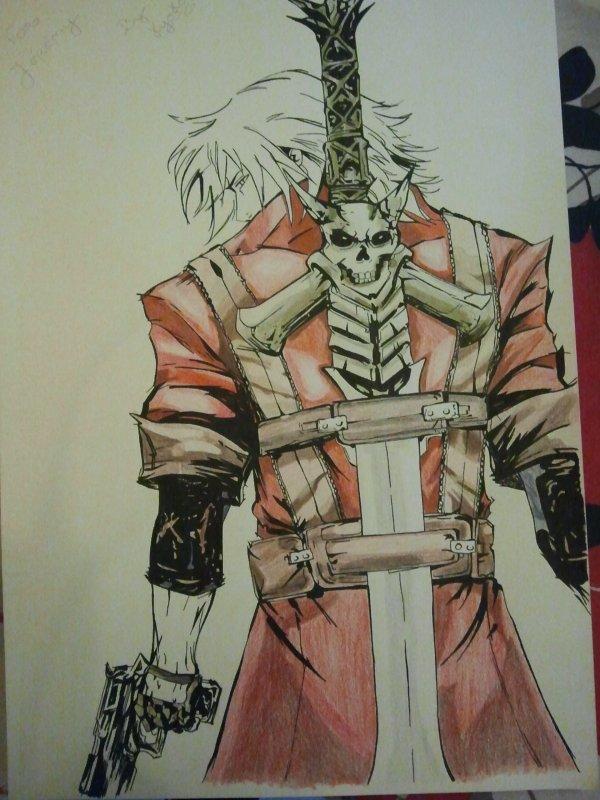 Draw Dante DMC by Kyoko