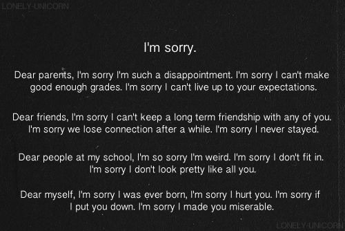 Sorry for being me...