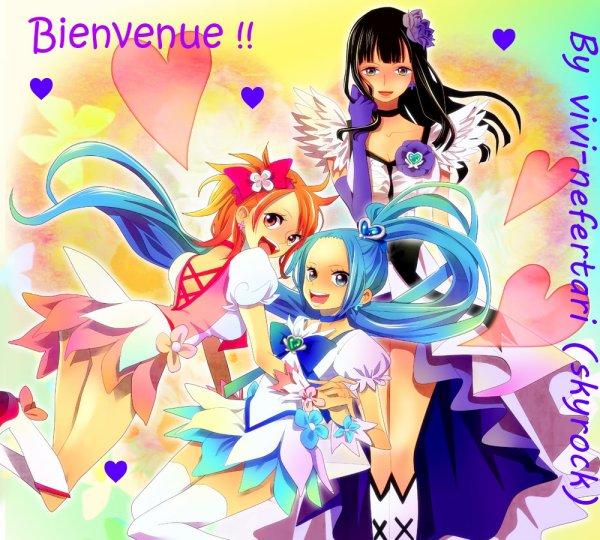 Bienvenue chers fans de manga!(l)