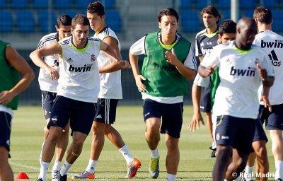 Joueurs du Real Madrid dans la formation