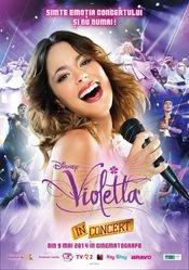 Afisul oficial -- Violetta în concert !!!