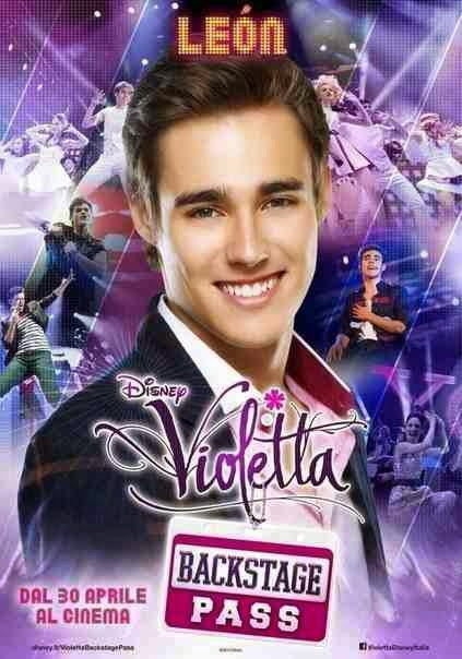 Violetta backstage pass - poze !