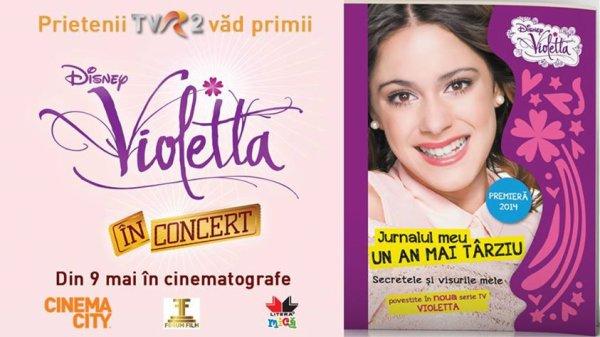 Prietenii TVR2 vad primii '' Violetta în Concert '' !!!!