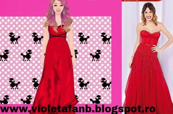 Look ca al Violettei  pe Stardoll !