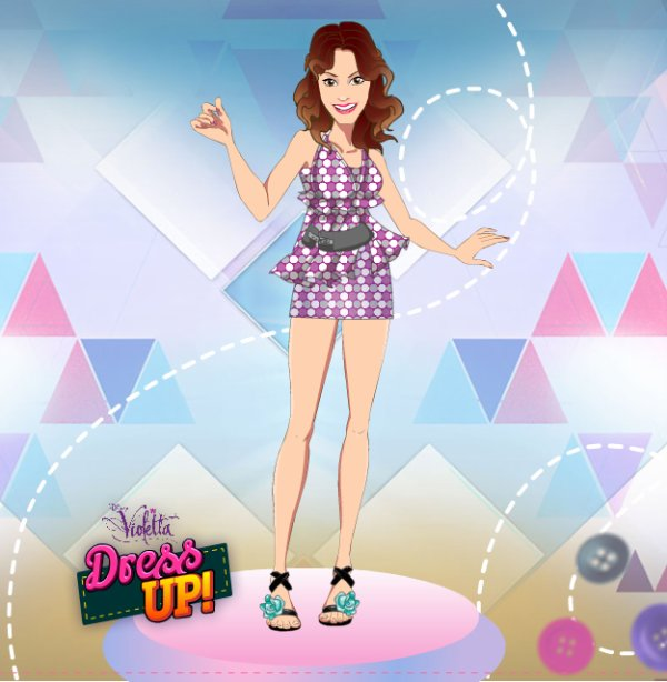 Violetta Dress Up - Game