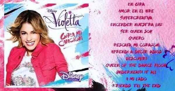 Album oficial de molodii Violetta 3