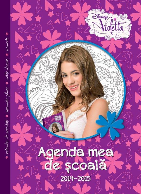 Pagini din '' Agenda de scoala Violetta '' !