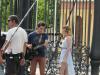 Poze cu Tini si Jorge filmand in Sevilla :))