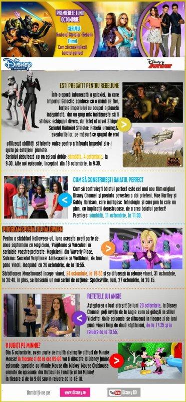 Incepe Violetta 3 + Retetele Violetta prezentate de Angie!
