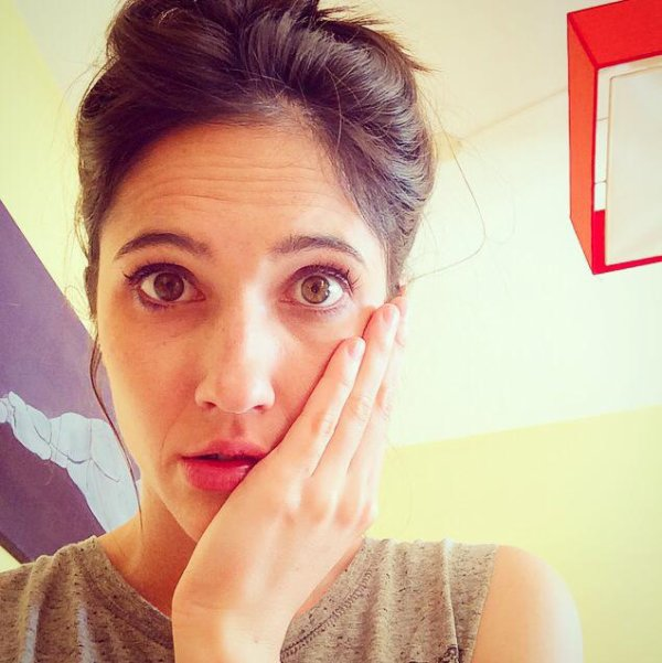 Seeelfie by Ludovica Comello!