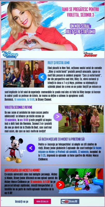 Luni,la Disney Channel!