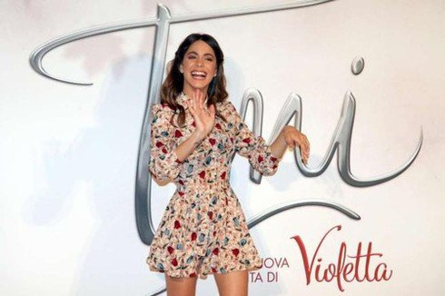 Poze rare din culisele filmului Tini el cambio di Violetta !