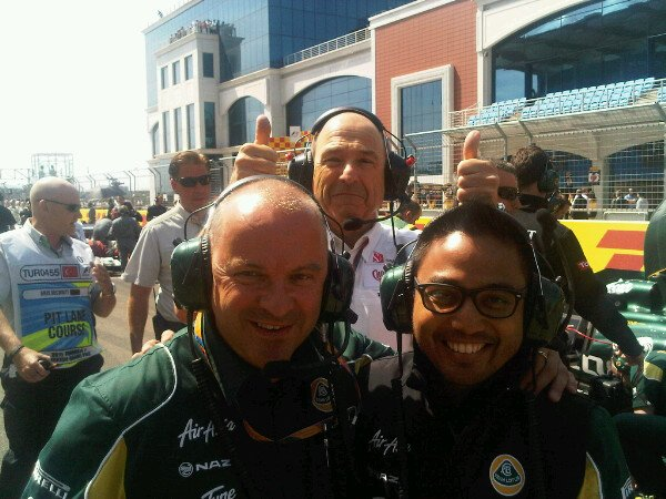 La bonne ambiance entre Sauber et Lotus