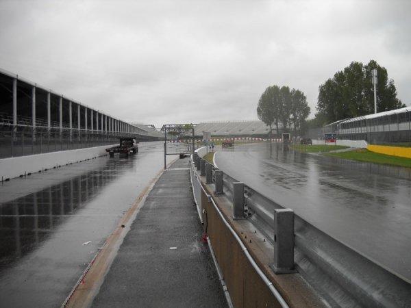 Pluie possible pour la course