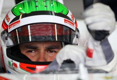 Perez face à Bianchi à Fiorano