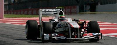 Sergio Perez et Ferrari