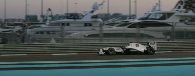 GP d'Abu Dhabi: Hamilton le plus rapide de la 3ème séance d'essais libres