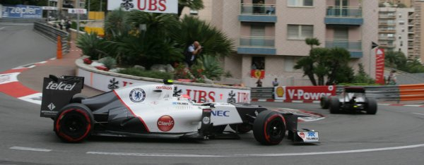 Perez veut finir la saison avec Sauber