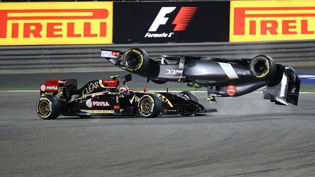 """GP de Bahreïn 2014 - Gutiérrez en tonneaux : Maldonado (Lotus) avait """"nulle part où aller"""""""