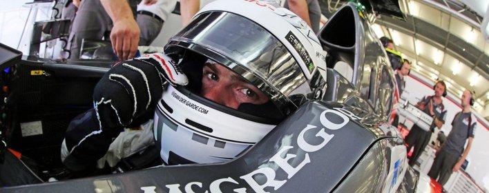 77 tours pour Van der Garde avec la Sauber C33