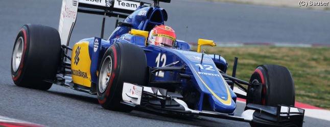 Sauber veut continuer sur sa lancée à Barcelone
