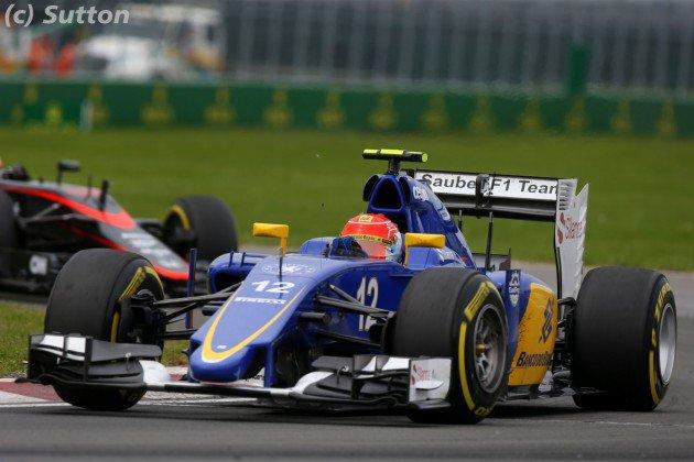 Sauber aura les nouveautés de Ferrari à Spa