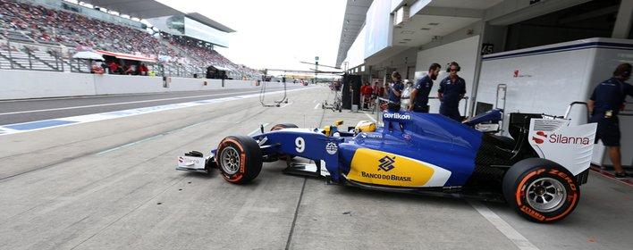 Sauber manque les points au Japon