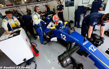 Nasr change d'ingenieur de course chez Sauber