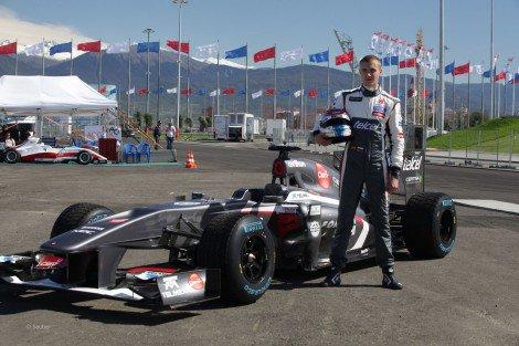 Sergey Sirotkin remet un pied en F1