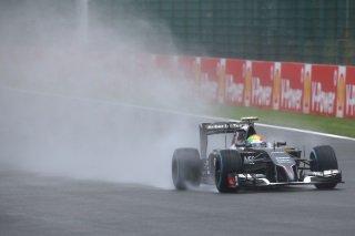 La pluie pour aider Sauber aujourd'hui en course ?
