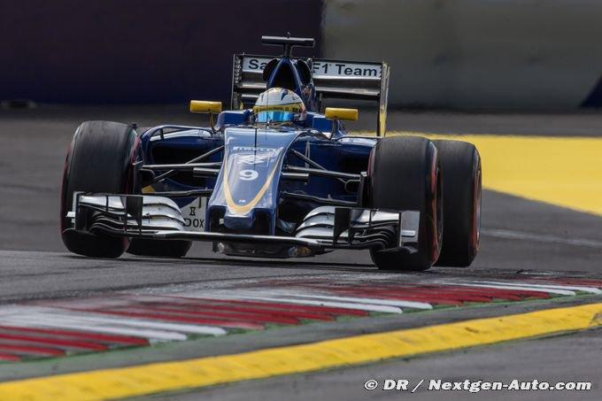 Sauber s'enfonce dans les classements