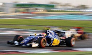 Sauber en pole pour 2017