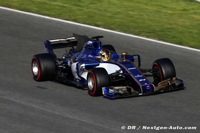 Sauber conclut ses essais en essayant de trouver de la performance