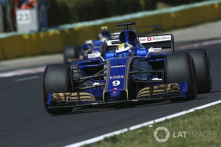 Sauber complète son évolution aéro pour Spa