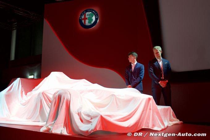 Alfa Romeo Sauber confirme le lancement de la C37 pour le 20 février