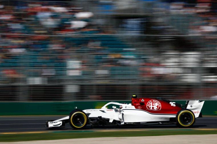 Leclerc a endommagé sa Sauber