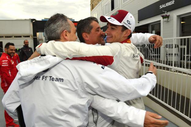 Charles Leclerc, sixième du Grand Prix d'Azerbaïdjan : «Cela a été un peu chaud».