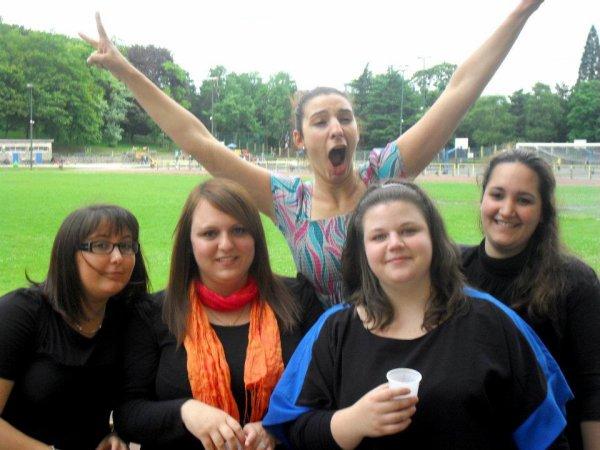 Fin des examens juin 2012 au parc de Cointe