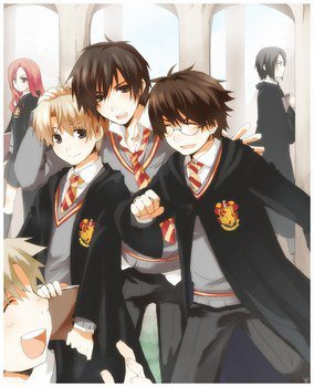 HARRY POTTER EN MANGA :)